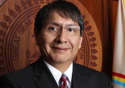 Jonathan Nez, MPA (Diné/Navajo)